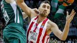 Ζάλγκιρις Κάουνας - Ολυμπιακός 83-75, Διπρόσωπος,zalgkiris kaounas - olybiakos 83-75, diprosopos