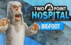 Κυκλοφόρησε, Bigfoot DLC, Two Point Hospital, kykloforise, Bigfoot DLC, Two Point Hospital