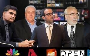 Σε ποιους ανήκουν τα μεγάλα κανάλια της ελληνικής τηλεόρασης