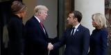 Τραμπ, Μακρόν, Συμφωνία, Παρισιού,trab, makron, symfonia, parisiou