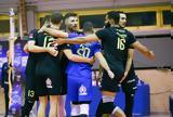 Volley League, Πρώτο, ΑΕΚ, Σαλαφζούν,Volley League, proto, aek, salafzoun