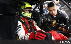 Mercedes, Schumacher Jr