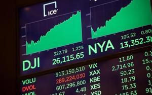 Αισιοδοξία, Wall Street, Τραμπ, aisiodoxia, Wall Street, trab