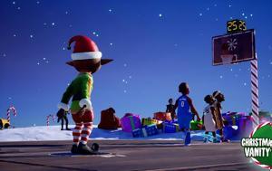 Δωρεάν Χριστουγεννιάτικο DLC, NBA 2K Playgrounds 2, dorean christougenniatiko DLC, NBA 2K Playgrounds 2