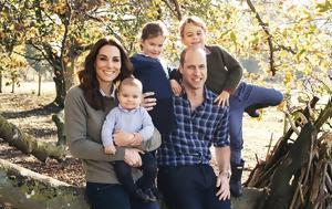Οι χριστουγεννιάτικες κάρτες της βρετανικής βασιλικής οικογένειας που έγιναν viral