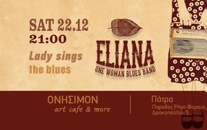 ELIANA - One Woman Blues Band Live, Onisimon