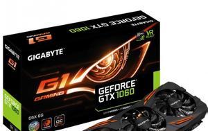 GTX 1060, GDDR5X, GIGABYTE