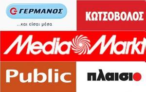 Τέλος, Media Markt, Γερμανός Public Πλαίσιο Κωτσοβολος, telos, Media Markt, germanos Public plaisio kotsovolos