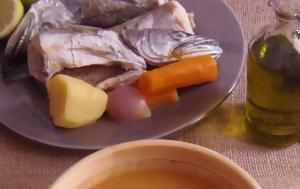 Ψαρόσουπα, psarosoupa