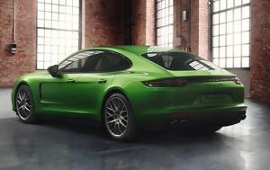 Porsche Panamera GTS, Mamba Green