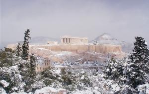 Καιρός, Έρχεται, - Χιονοπτώσεις, Αττική, kairos, erchetai, - chionoptoseis, attiki