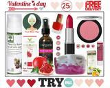 Valentine's Day Beauty Box Μόνο, 25€,Valentine's Day Beauty Box mono, 25€