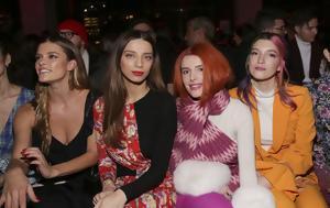 Λαμπερές, Εβδομάδα Μόδας, Νέας Υόρκης, laberes, evdomada modas, neas yorkis