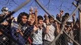 Μετανάστες, Καλαί,metanastes, kalai