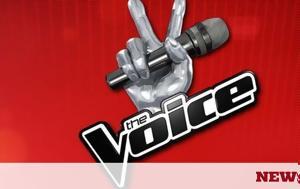 Έφυγε, The Voice, efyge, The Voice