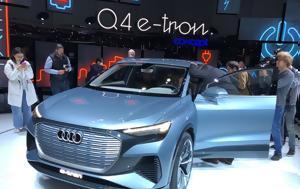 Σαλόνι Γενεύης 2019, Audi Q4 -tron, 450, saloni genevis 2019, Audi Q4 -tron, 450