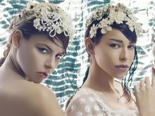 Μοντέλα του GNTM όπως δεν τα έχουμε ξαναδεί -Με νυφικά και ρομαντικά hair  accessories για τις ανάγκες φωτογράφισης a50c4b006a8