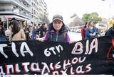 Θεσσαλονίκη, Πορεία, Παγκόσμια Ημέρα, Δικαιώματα, Γυναίκας,thessaloniki, poreia, pagkosmia imera, dikaiomata, gynaikas