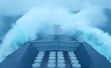 Έτσι δείχνει η τρικυμία όταν είσαι πάνω σε πολεμικό πλοίο,