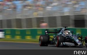 F1 GP Αυστραλίας, 0 038sec, Hamilton, Vettel, FP1, F1 GP afstralias, 0 038sec, Hamilton, Vettel, FP1