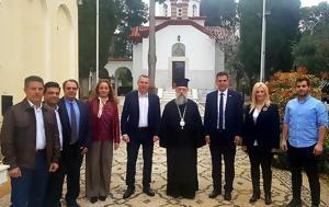 Καραμέρος, Επίσκεψη, Σεβασμιώτατο Μητροπολίτη, Κύριλλο, karameros, episkepsi, sevasmiotato mitropoliti, kyrillo
