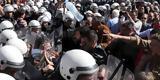 Διαδηλωτές, Αλεξάνταρ Βούτσιτς, Προεδρικό Μέγαρο, Σερβίας,diadilotes, alexantar voutsits, proedriko megaro, servias