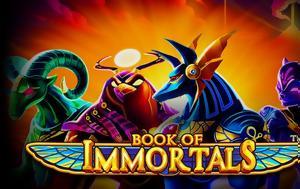 Παγκόσμια, Book, Immortals, Casino, Stoiximan, pagkosmia, Book, Immortals, Casino, Stoiximan