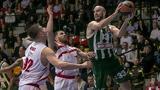 Αρμάνι Μιλάνο - Παναθηναϊκός 83-95, Πράσινος,armani milano - panathinaikos 83-95, prasinos