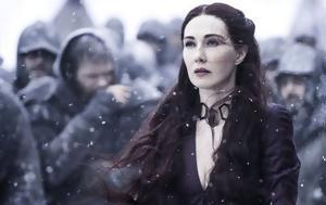 Game, Thrones, Πώς, Melisandre, Winterfell, Game, Thrones, pos, Melisandre, Winterfell