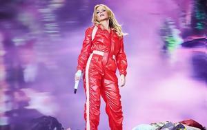 Kylie Minogue, Δάκρυσε, Glastonbury Festival-, Kylie Minogue, dakryse, Glastonbury Festival-