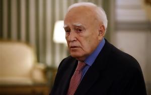 Πέθανε, Κάρολος Παπούλιας, pethane, karolos papoulias