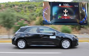 0-100, Toyota Corolla Hybrid +video