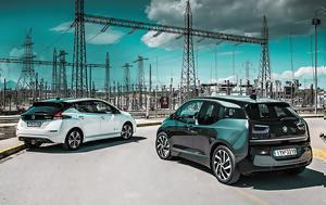BMW 3 VS Nissan LEAF