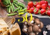 15 φαγητά με λιγότερο από 50 θερμίδες,