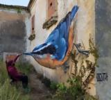 Η τέχνη του γκράφιτι «λυγίζει» την λογική,