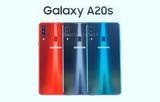 Samsung Galaxy A20s, Snapdragon 450,4 000mAh
