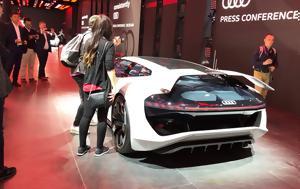 Έκθεση Φρανκφούρτης 2019, Audi PB18, Εντυπωσιακό, ekthesi frankfourtis 2019, Audi PB18, entyposiako