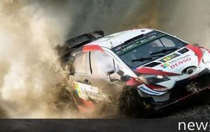 WRC Ράλι Ουαλίας, Κρατάει, Tanak, WRC rali oualias, krataei, Tanak
