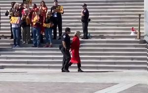 Συνελήφθη, Τζέιν Φόντα, Καπιτώλιου - ΒΙΝΤΕΟ, synelifthi, tzein fonta, kapitoliou - vinteo