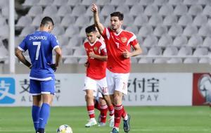 Κύπρος – Ρωσία 0-5, Έκλεισε, Euro 2020, kypros – rosia 0-5, ekleise, Euro 2020