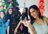 Τα χριστουγεννιάτικα δέντρα που στόλισαν φέτος οι celebrities,
