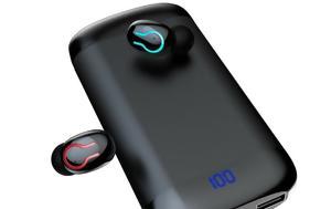 DEAL Ασύρματα-ακουστικάhands-free Bluetooth 5 0, 6 000mAh, €18, DEAL asyrmata-akoustikahands-free Bluetooth 5 0, 6 000mAh, €18