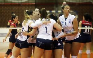 Volley League Γυναικών, Πρώτος, ΑΟ Θήρας, Volley League gynaikon, protos, ao thiras