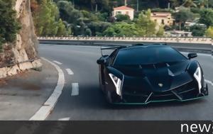 Lamborghini Veneno Roadster, 6 000 000, +video