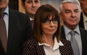 Αικατερίνη Σακελλαροπούλου ΠτΔ, ΜΜΕ, aikaterini sakellaropoulou ptd, mme