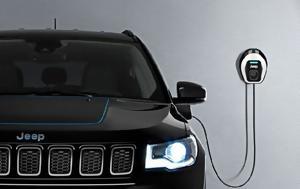Εκδόσεις Plug-In Hybrid, Jeep Renegade, Jeep Compass, ekdoseis Plug-In Hybrid, Jeep Renegade, Jeep Compass