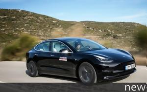 Αποκλειστικό, Οδηγούμε, Ελλάδα, Tesla Model 3 Standard Plus, apokleistiko, odigoume, ellada, Tesla Model 3 Standard Plus