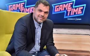 All Star Game Time, Δημήτρη Παπανικολάου, Γιώργο Λέντζα, All Star Game Time, dimitri papanikolaou, giorgo lentza