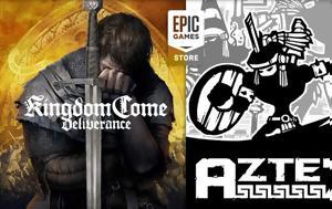 Aztec, Kingdom Come, Deliverance, Epic Games Store