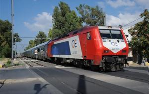 ΤΡΑΙΝΟΣΕ, Προσωρινή, Λάρισα - Κατερίνη, trainose, prosorini, larisa - katerini